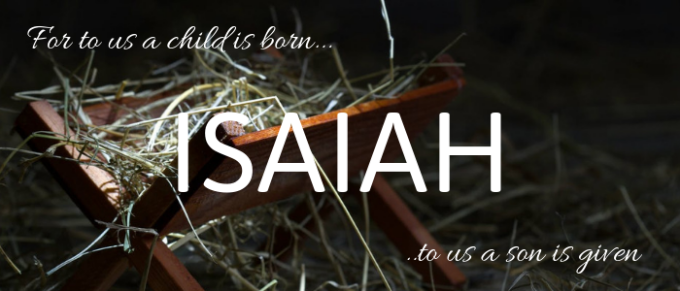 The King is Born - Isaiah 9:6-7